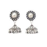 Banjara Silver Jhumka Earring- ER066