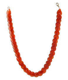 Crimson Glory 16 Necklace, red