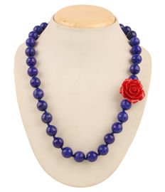 Bora Bora Necklace - Blue, blue