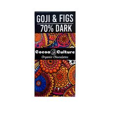 Goji and Figs Dark Chocolate (70% ) Bar 75G