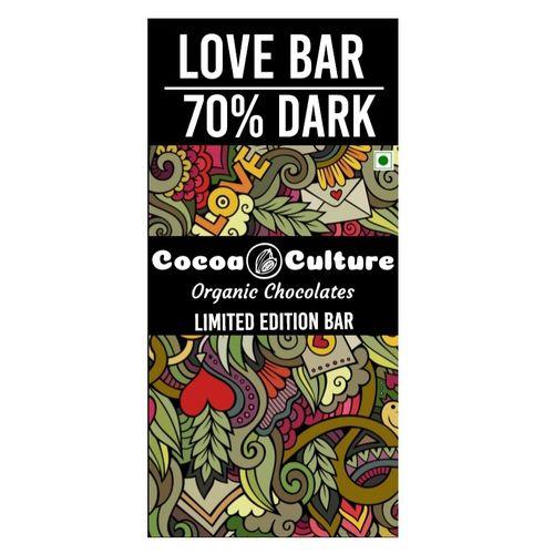 Love Bar (70% Dark Chocolate) - Limited Edition