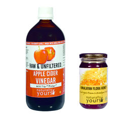 Combo Apple Cider Vinegar+ Himalayan Multiflora Honey