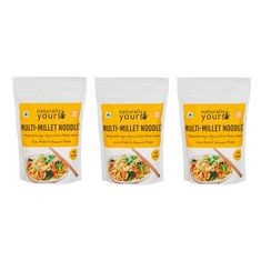 Multi-Millet Noodles 180G (Pack of 3)