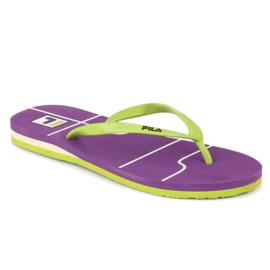 Fila Vint Flip Green Flip Flops, 3,  green