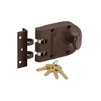 Verti Bolt Lock - jassi, 3.5 inches, steel