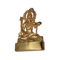 Shiva Statue, gold, zinc