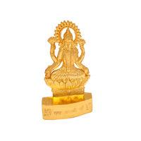 Laxmi Ji Statue, gold, zinc