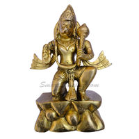 Brass Statue Lord Hanuman, brass