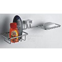 Soap & Bottle Holder, home care, stainless steel