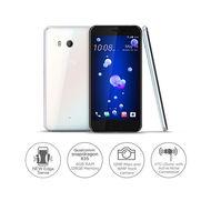 HTC U11 - Dual Sim| 128GB| 6GB| 5.5QHD| 12MP+ 16MP Camera,  Ice White