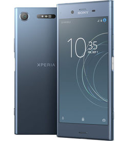 SONY XPERIA XZ1 G8342 MOBILE/Dual Sim/LTE/Google Android O ( Oreo) /5.2 FHD HDR Screen,  Blue