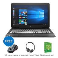 HP 15AY067 i3-600 4GB/1TB/15.6/W10,  Black