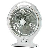 Elekta Rechargeable Fan with LED light, ERF-B-2396MKII, 14 Inch