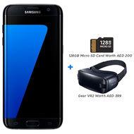 Samsung Galaxy S7 Edge -32GB with 128GB Memory Card & Gear VR2, Bundle Offer,  Black