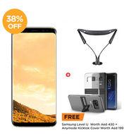 Samsung Galaxy, S8 Plus,  Maple Gold