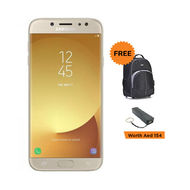 Samsung J7 Pro (2017 - J730F) 3GB, 16GB, 13MP Front & Back Camera, 4G Dual Sim,  Gold