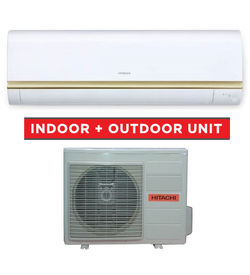Hitachi split AC  Indoor & Outdoor Unit , 1.5TON  RASS18CPA/RACS18CPA