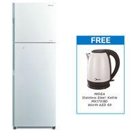 Hitachi Refrigerator Stylish line inverter, RH330PUK4K,  silver, 330 L