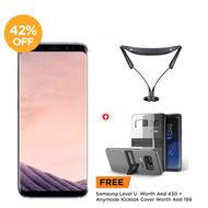 Samsung Galaxy, S8,  Orchid Gray
