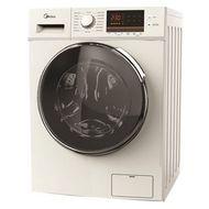 MIDEA 7 KG Front Loading Washing Machine, White