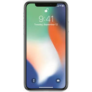 Apple iPhoneX Smartphone with Facetime,  silver, 64 GB