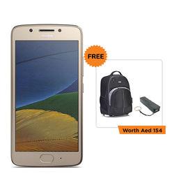 LENOVO MOTO G5 XT1676 MOBILE/DUAL SIM/ 5.0 Full HD Screen,   Gold