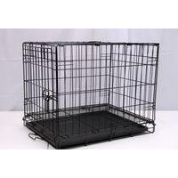 DOG CAGE BLACK ELECTRO COATED 61X46X48CM
