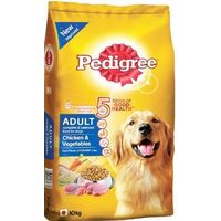 Pedigree Chicken and Vegetable Adult Dog Food 10 Kg