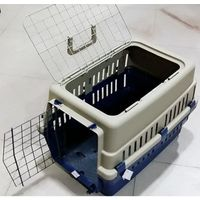 PLASTIC PET CARRIER DOUBLE DOOR SMALL