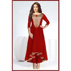 Kmozi Designer new Kurti, red