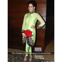 Kmozi Sanjana Film Beat Online Shopping, pastel light green