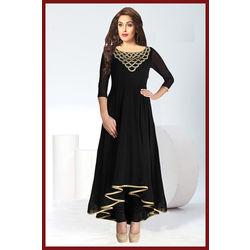 Kmozi Designer brand New Kurti, black
