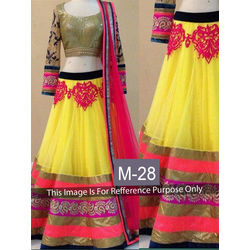 Kmozi new Designer Lehenga Choli, yellow
