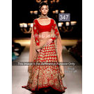 Kmozi Aliya Craft Bollywood Lehenga Choli, red