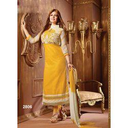 Kmozi Amazing Outsting Designer Salwar Kameez, yellow