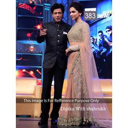 Kmozi Dipika Bollywood Designer Saree, pink