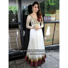 Kmozi Tamanna Unique Designer Fashionable Anarkali, white
