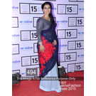 Kmozi Kajol Lakme Fashion Week 2015 Saree, blue