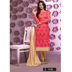 Kmozi Attractive Look Dress Material Buy Online, peach