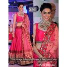 Kmozi Genelia Bollywood Lehenga, pink