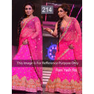 Kmozi Bollywood Rani Yash Raj Designer Saree, rani