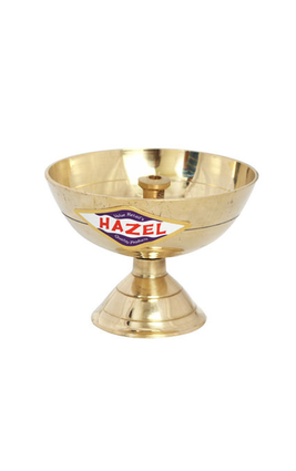 Hazel Brass Diya Oil Lamp Payali S2