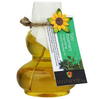 Soulflower Rosemary Tulsi Invigorating Aroma Massage Oil - 190 ml