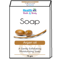 Healthvit Bath & Body Argan Oil Soap 75g