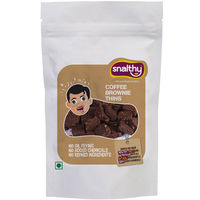 Snalthy Coffee Brownie Thins