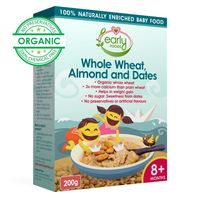 Early Foods Instant Wheat Almond & Date Porridge Mix 200g