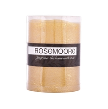 Rosemoore LED Candle, Gold