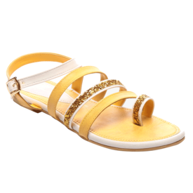 Nell Sandals,  yellow, 40