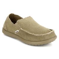 Crocs Santa Cruz Loafers, 7,  khaki