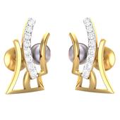 EARRING (LJER0095), 14k, ef-vvs